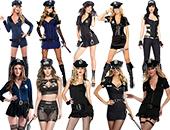 Polizisten & Häftling Kostüme