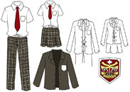 School Uniform Kostuums