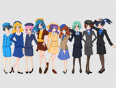 Airline Uniform Kostumi