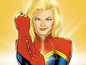 Captain Marvel костюми