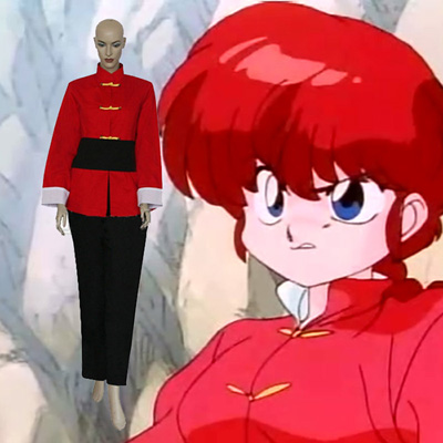 Ranma ½ Girl Part Saotome Cosplay Kostuums