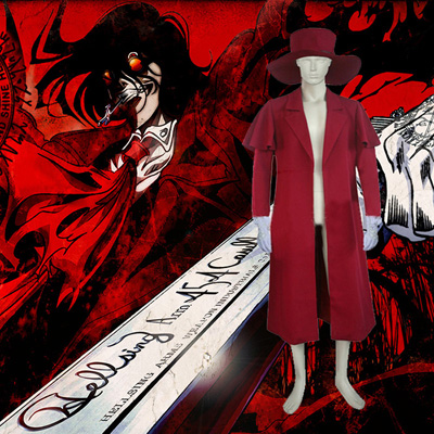Hellsing Alucard Cosplay Costumes London
