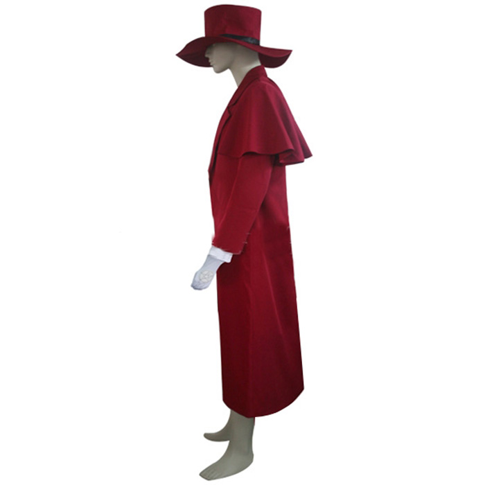 Luxury Hellsing Alucard Cosplay Costumes Wellington