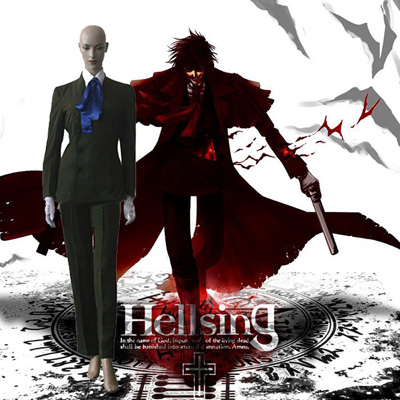 Luxury Hellsing Itguura Cosplay Costumes Wellington