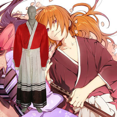 Luxury Rurouni Kenshin Himura Holiday Cosplay Costumes Wellington