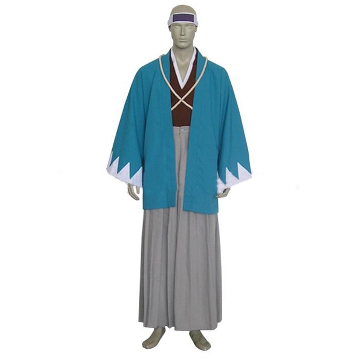 Rurouni Kenshin Saito Hajime Shinsengumi Cosplay Jelmez Karnevál