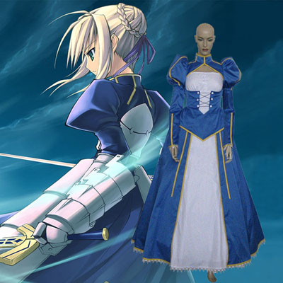 Fate/stay night Sverdsman Cosplay Kostyme Karneval