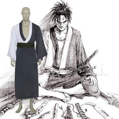 Blade Of The Immortal Manji Cosplay Kostym Karneval