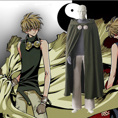 Déguisements Tsubasa Reservoir Chronicle Syaoran Costume Carnaval Cosplay