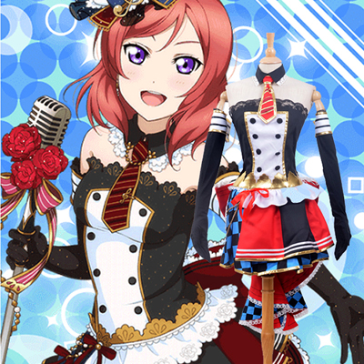Luxury LoveLive! Maki Nishikino Maid Cosplay Costumes Wellington