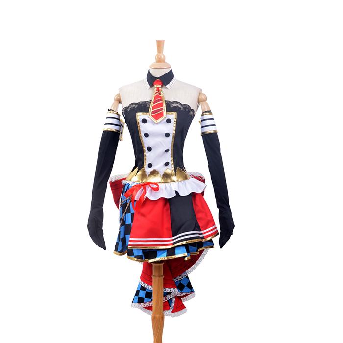 Déguisements LoveLive! Maki Nishikino Maid Costume Carnaval Cosplay