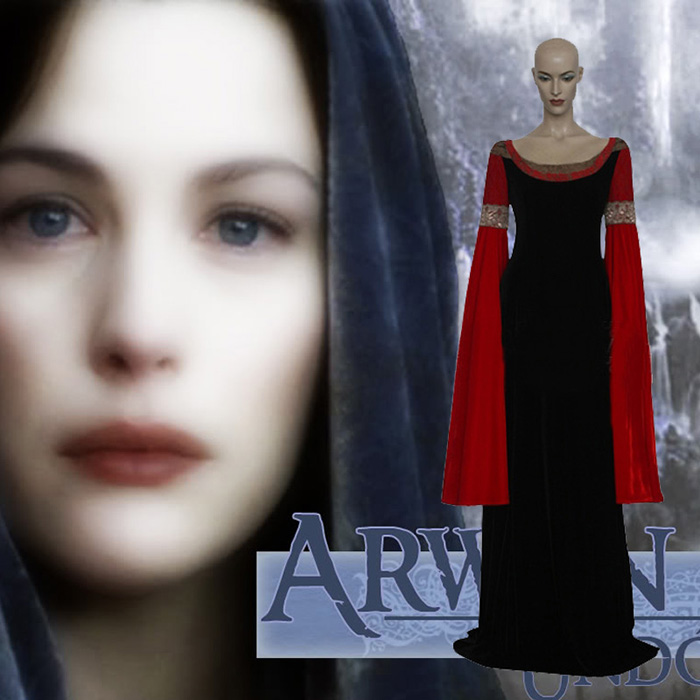 The Lord of the Rings Arwen Cosplay Jelmez Karnevál