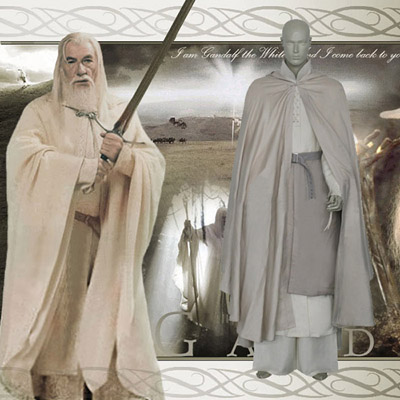 The Lord of the Rings Gandalf/Mithrandir Cosplay Traje Carnaval