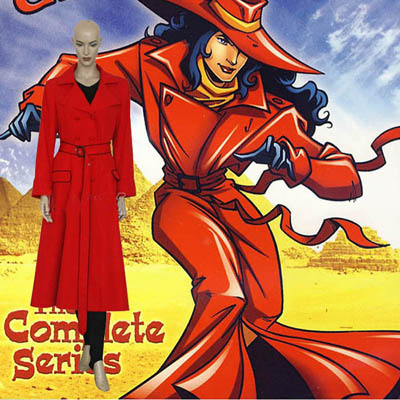 Where on earth is Carmen Sandiego Cosplay Kostume Fastelavn