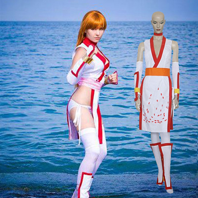Death or Health Kasumi Cosplay Kostuum Carnaval