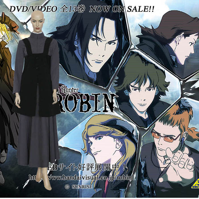 Witch Hunter Robin Sena Robin Cosplay Outfits