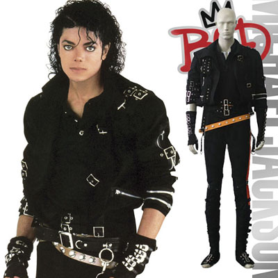 Michael Jackson Cosplay Costume Vêtements Carnaval