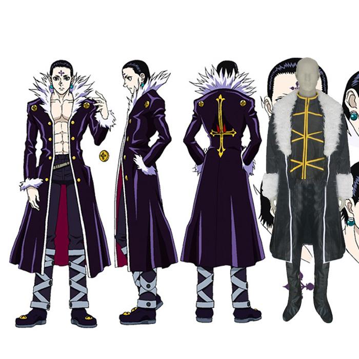 Hunter × Hunter Kulolo lushilufelu Cosplay Jelmez Karnevál