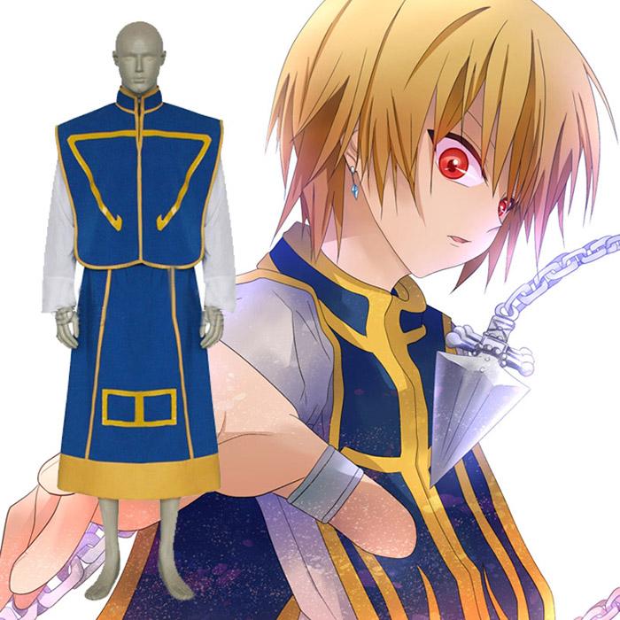 Déguisements Hunter × Hunter cool Kurapika Costume Carnaval Cosplay