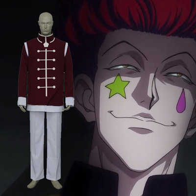 Hunter × Hunter cool Hisoka Kurapika Cosplay Kostym Karneval