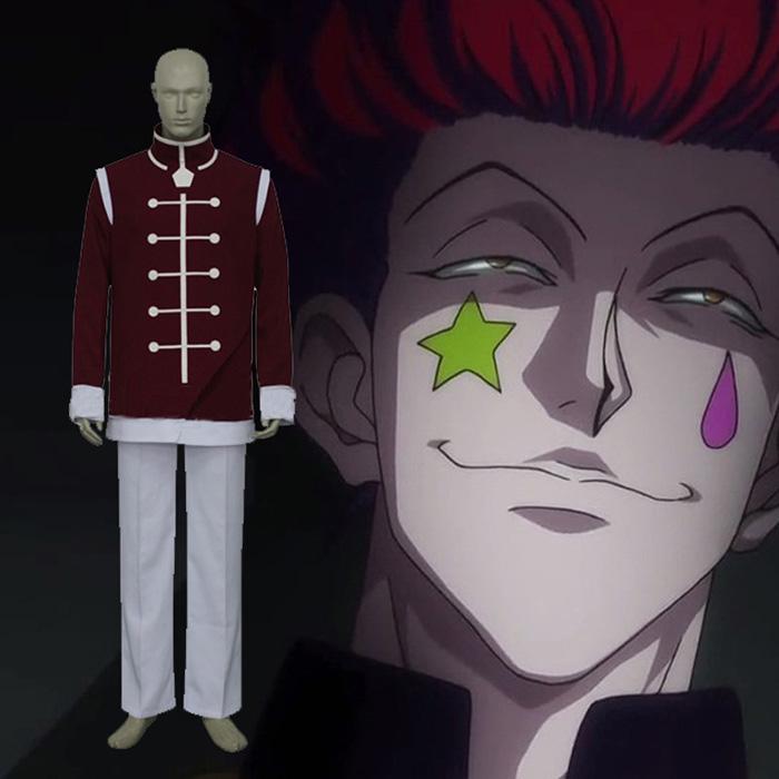 Hunter × Hunter cool Hisoka Kurapika Cosplay asut Naamiaisasut