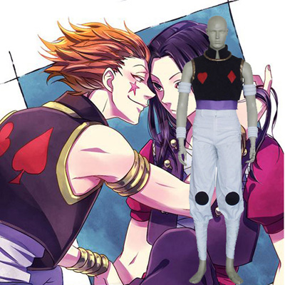 Hunter × Hunter Hisoka Cosplay Costumi Carnevale