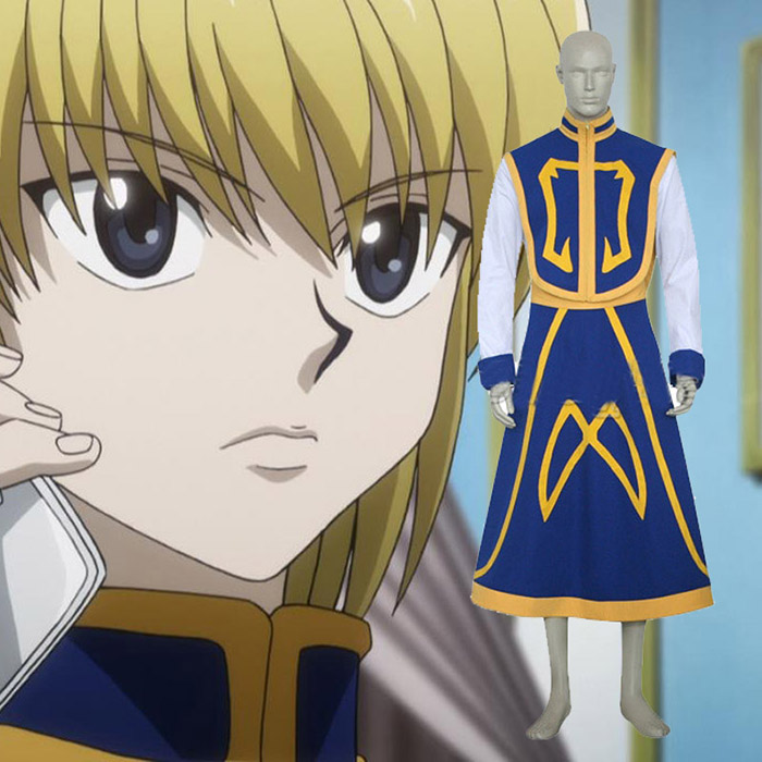 Luxury Hunter × Hunter Kurapika Cosplay asut Naamiaisasut