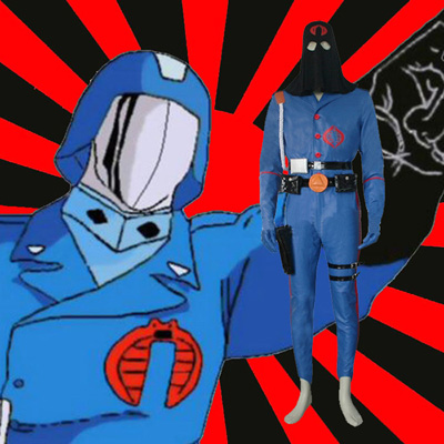 G.I. Joe The Rise of Cobra Cobra Commander Cosplay Costume Carnaval