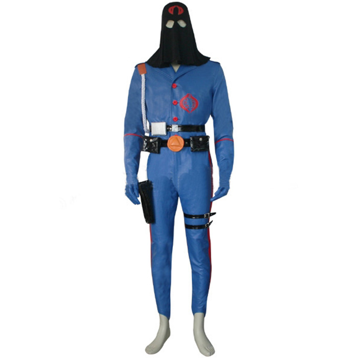 Déguisements G.I. Joe The Rise of Cobra Cobra Commander Costume Carnaval Cosplay