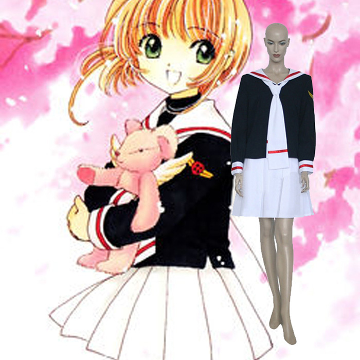 Cardcaptor Sakura Kinomoto Cosplay Jelmez Karnevál