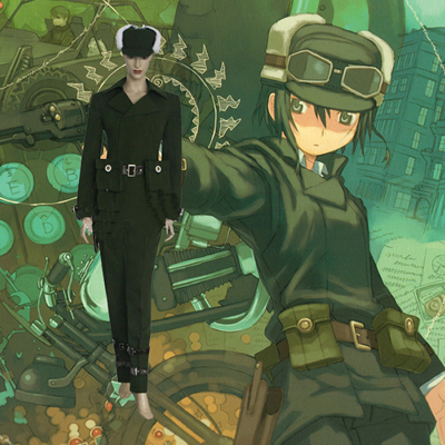 Top Kino no Tabi Kino Cosplay Costumes Sydney