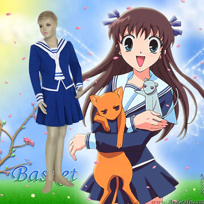 Fruits Basket Tohru Honda Kids Outfits Anime