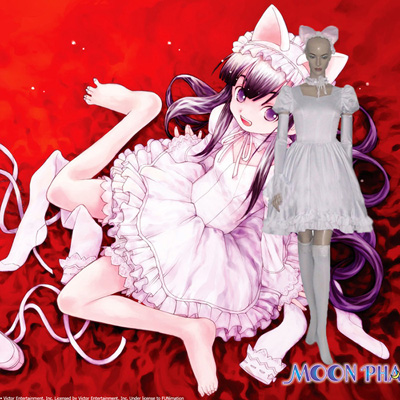 Luxury Tsukuyomi Moon Hazaki Luna Cosplay Costumes Wellington