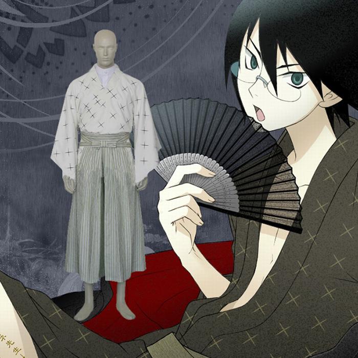 Sayonara Zetsubo Sensei Itoshiki Nozomu Cosplay asut Naamiaisasut