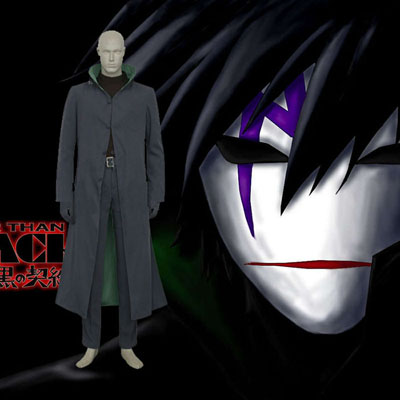 Darker than Black Contract Cosplay Kostym Karneval