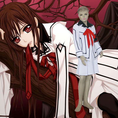 Vampire Knight Night Class Girl Kurosu Yuuki Kids Cosplay Outfits