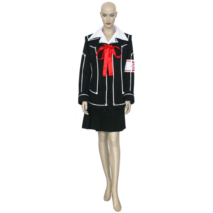 Déguisements Vampire Knight Day Class Girl Kurosu Yuuki Costume Carnaval Cosplay