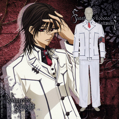 Luxury Vampire Knight Night Class Boy Kaname Kuran Cosplay Costumes Wellington
