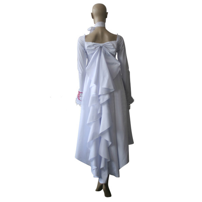 Luxury Vampire Knight Yuuki Cross White Gown Cosplay Costumes Wellington