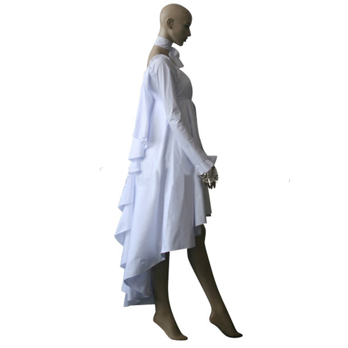 Déguisements Vampire Knight Yuuki Cross White Gown Costume Carnaval Cosplay
