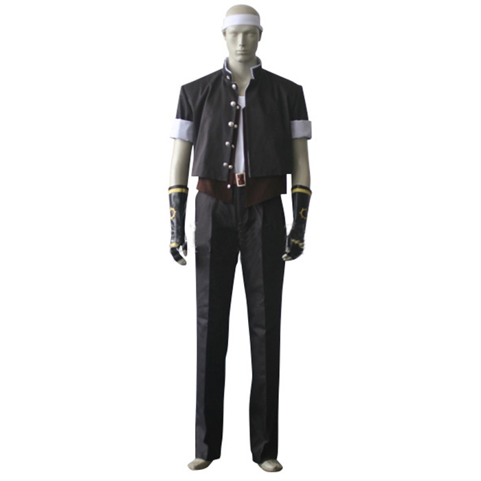Luxury The King of Fighters Kyo Kusanagi Cosplay Costumes Wellington