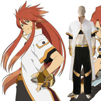 Tales of the Abyss Luke Fon Fabre Cosplay Kostym Karneval