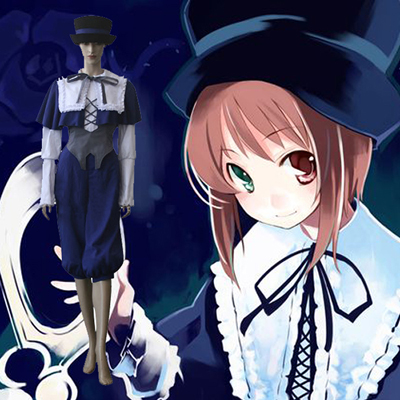 Luxury Rozen Maiden Souseiseki Lapis Lazuli Star Cosplay Costumes Wellington