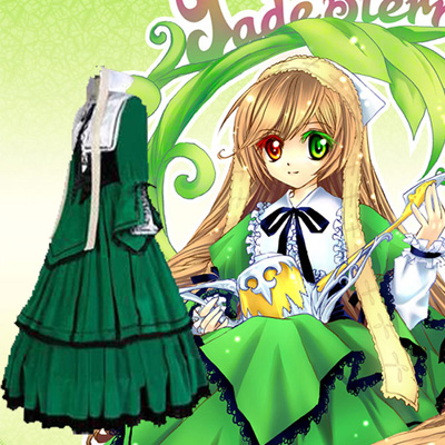 Luxury Rozen Maiden Suiseiseki Cosplay Costumes Wellington