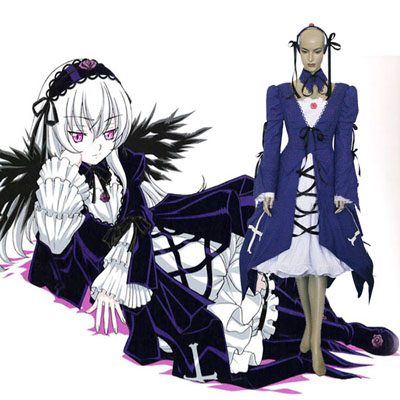 Rozen Maiden Suigintou Mercury Lamp Cosplay Outfits