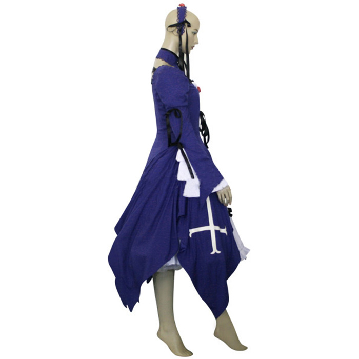Luxury Rozen Maiden Suigintou Mercury Lamp Cosplay Costumes Wellington