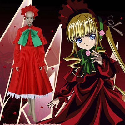Rozen Maiden Shinku Pure Ruby Cosplay Outfits