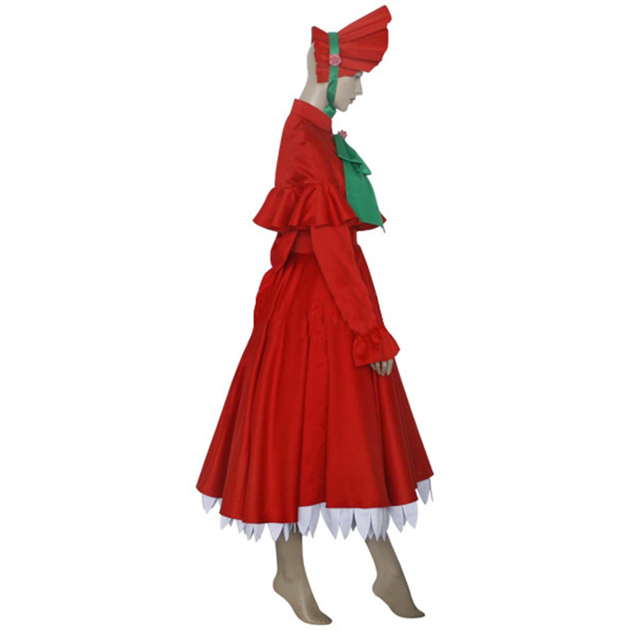 Top Rozen Maiden Shinku Pure Ruby Cosplay Costumes Sydney