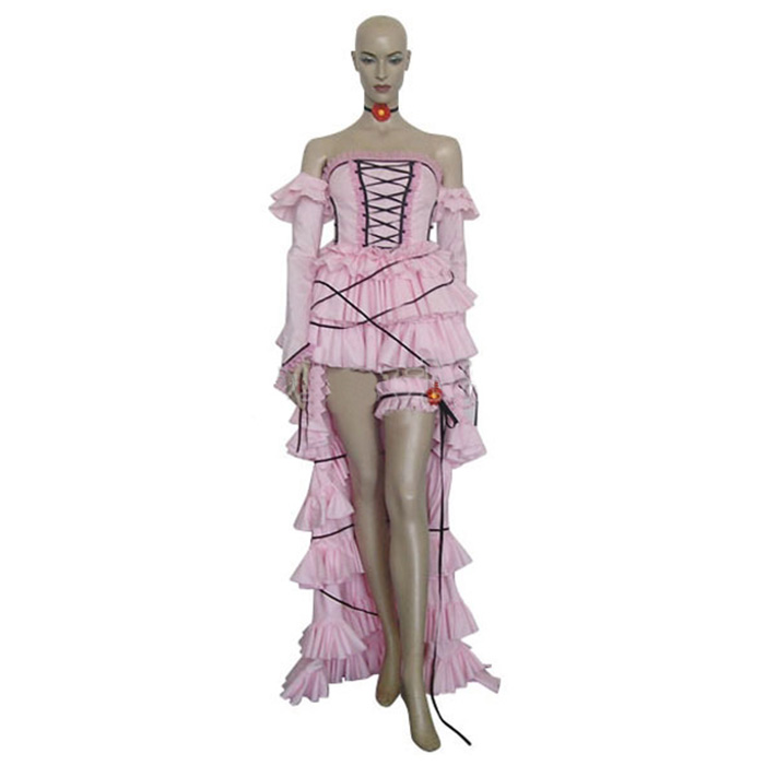 Déguisements Chobits Chi Costume Carnaval Cosplay Rose