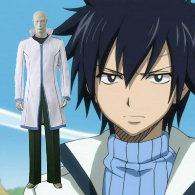 Fairy Tail Gray Fullbuster Cosplay Costumi Carnevale